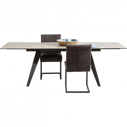 Table à rallonges Amsterdam 240x90cm Kare Design