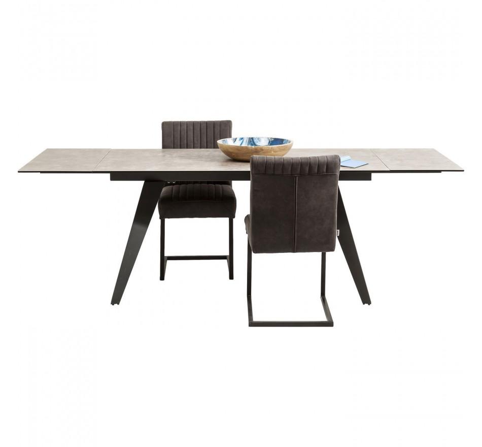 Table à rallonges Amsterdam 160x90cm Kare Design