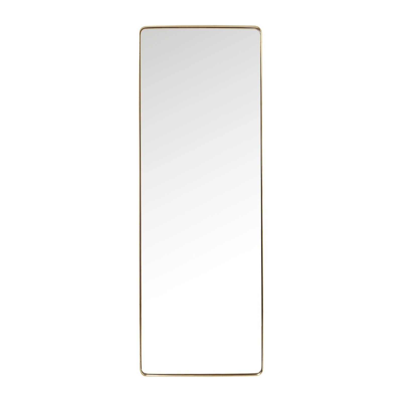 Miroir curve rectangulaire laiton 200x70cm kare design for Miroir rectangulaire