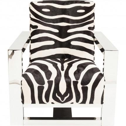 Fauteuil Wildlife Zebra Kare Design
