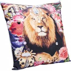 Coussin Bollywood Lion 45x45cm Kare Design