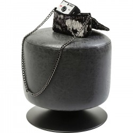 Tabouret Richi noir Kare Design