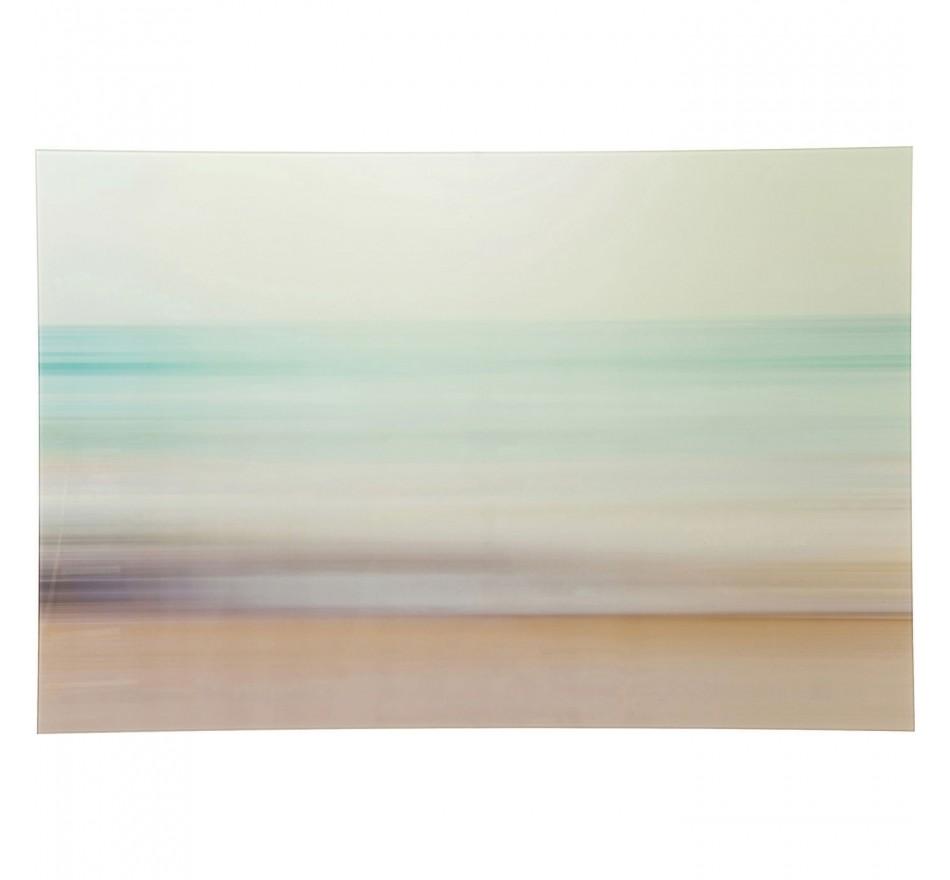 Tableau en verre Seaside 80x120cm Kare Design