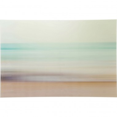 Tableau en verre Seaside 80x120cm Kare Design