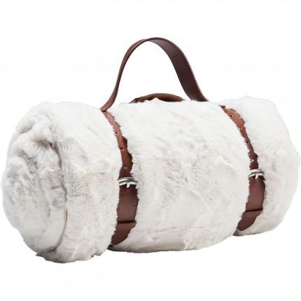Plaid Fur blanc 150x200cm Kare Design