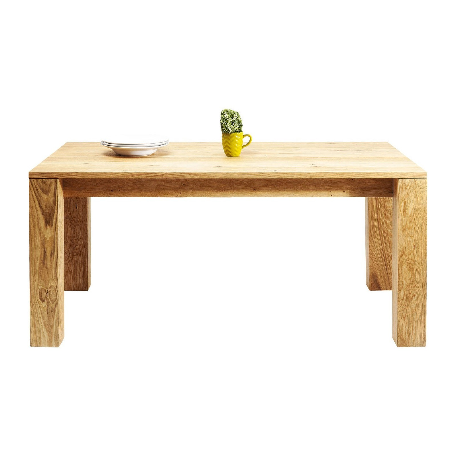 Table Rallonge Traditionnelle En Ch Ne Cena Kare Design