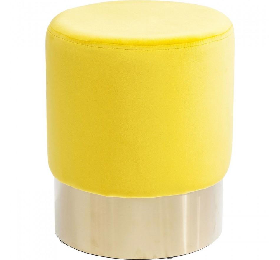 Tabouret Cherry jaune Kare Design