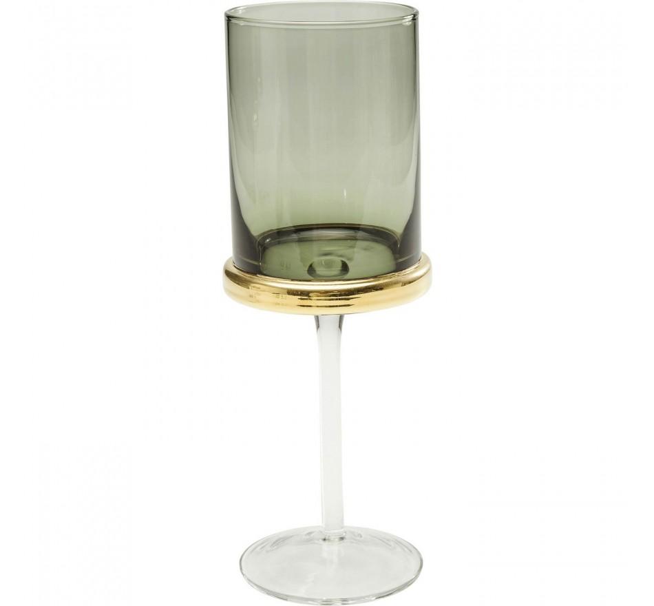Verres à vin Innocent fumé set de 6 Kare Design