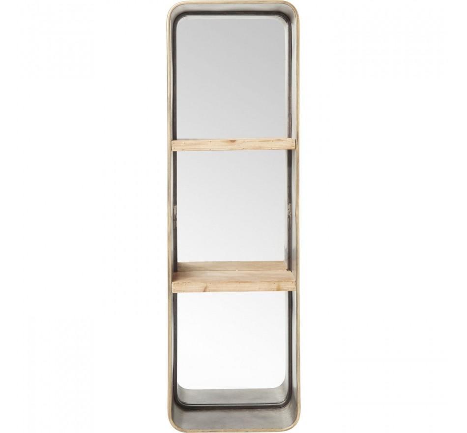 Miroir Curve tablettes 120x36cm Kare Design