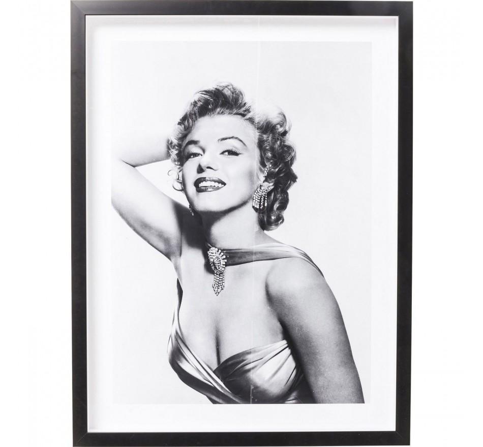 Tableau Frame Marilyn Diva 65x85cm Kare Design