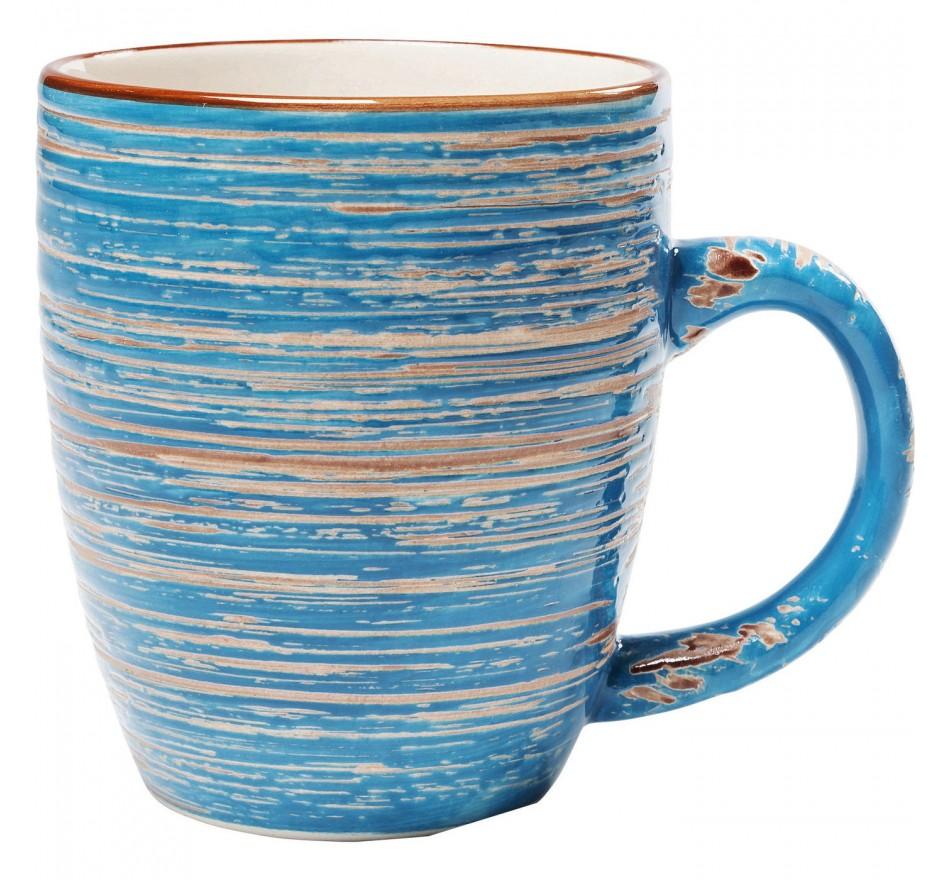 Mugs Swirl Blue set de 6 Kare Design
