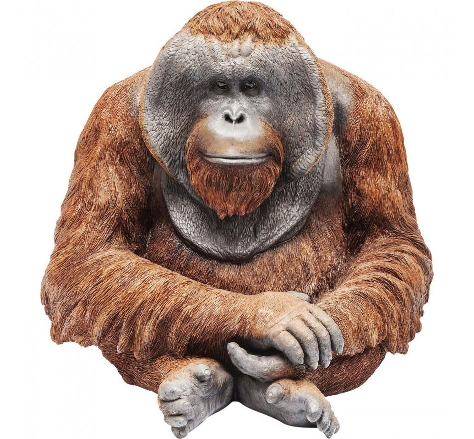 Figurine décorative Orangutan 33cm Kare Design