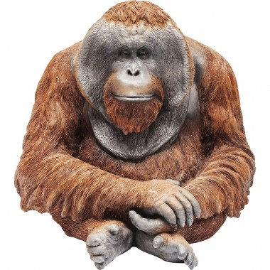 Figurine décorative Orangutan 33cm Kare Design