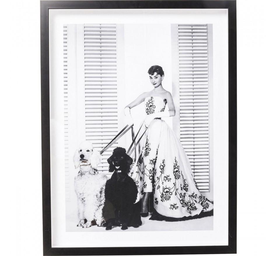 Tableau Frame Actor Audrey Diva 65x85cm Kare Design