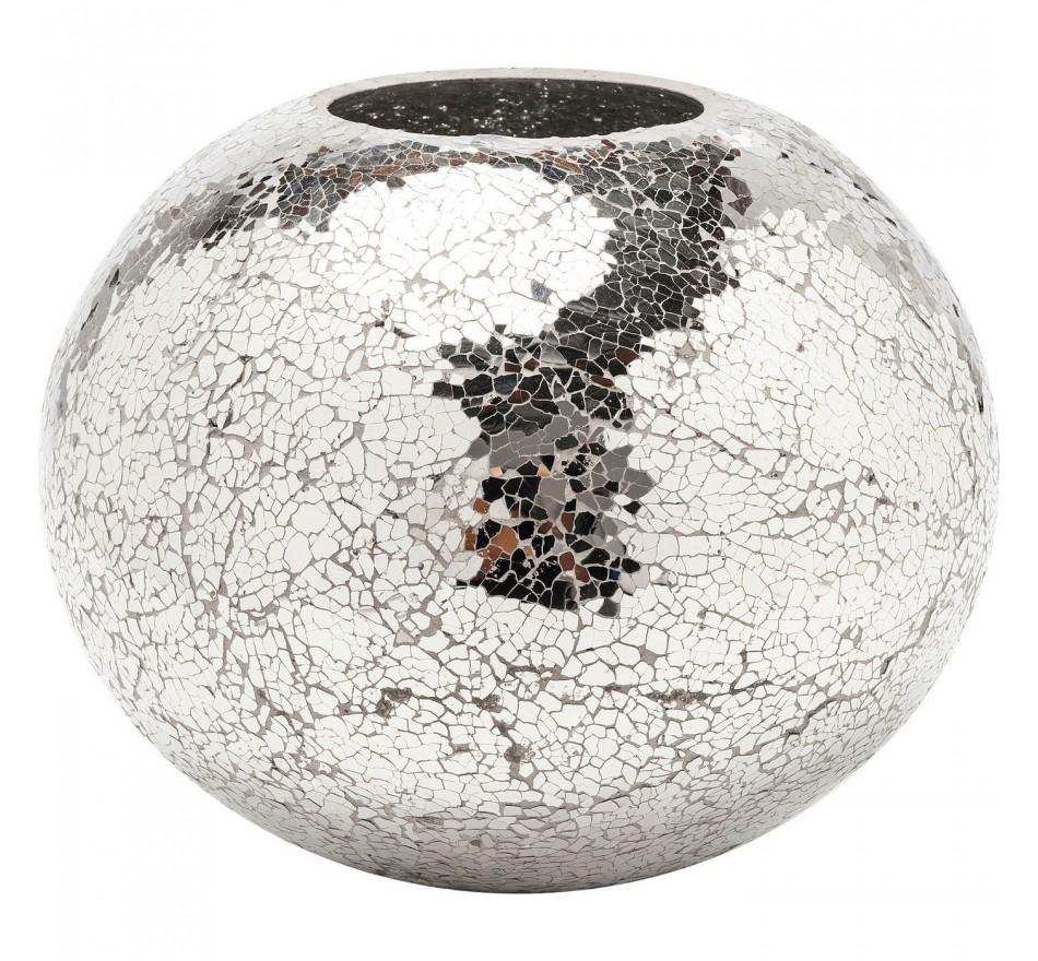 Vase Mosaic disco 21cm Kare Design