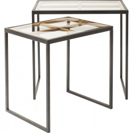 Tables d'appoint Beam set de 2 Kare Design