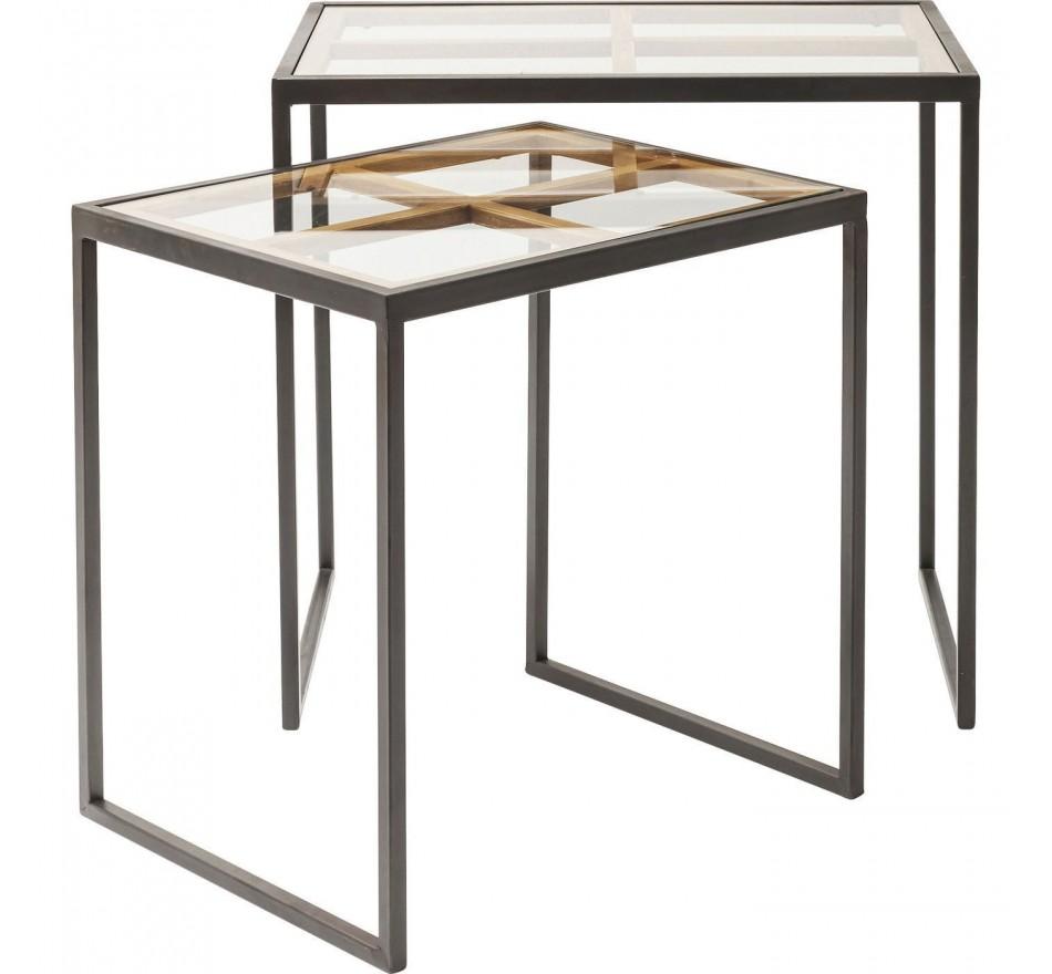 Table d'appoint Beamset de 2 Kare Design