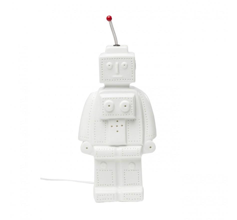 Lampe de table Robot blanche Kare Design