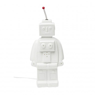 Lampe de table Robot blanche Kare Design