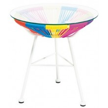 Table D'appoint Multicolor Kare Design