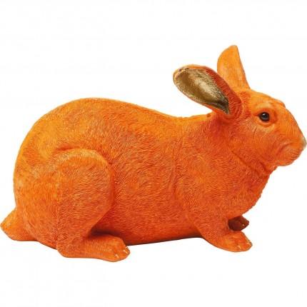 Tirelire Lapin orange Kare Design