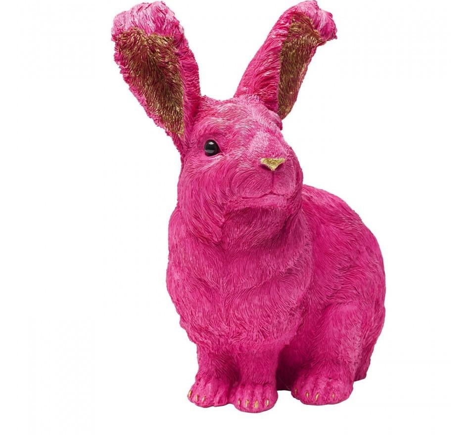 Tirelire Rabbit fuchsia Kare Design