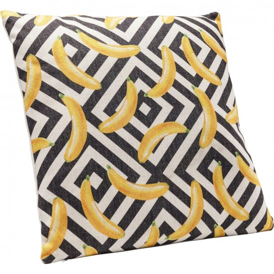 Coussin Banana Ornament 45x45cm Kare Design