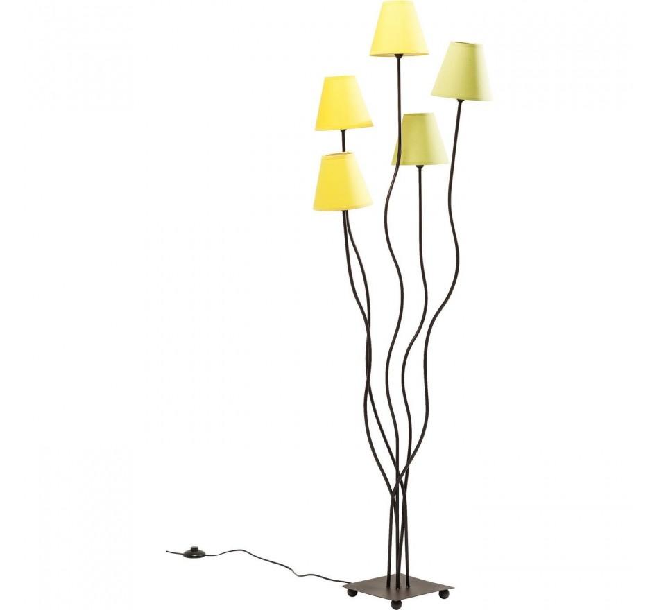 Lampadaire Flexible Lime cinque Kare Design