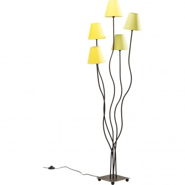 Lampadaire Flexible Lime 5 bras Kare Design