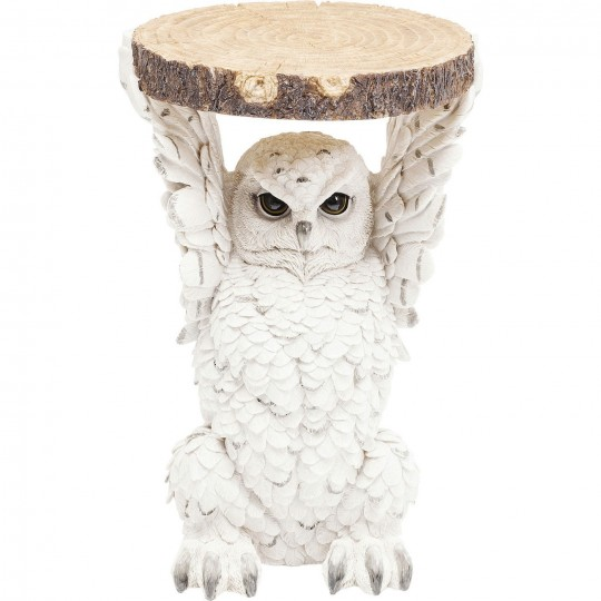 Table d'appoint Animal Owl 35cm Kare Design