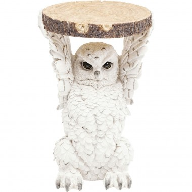 Table d'appoint Animal Chouette 35cm Kare Design