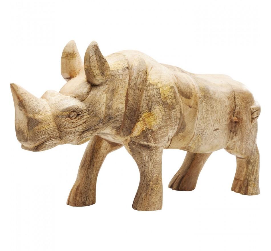 Déco Rhino Wood Kare Design