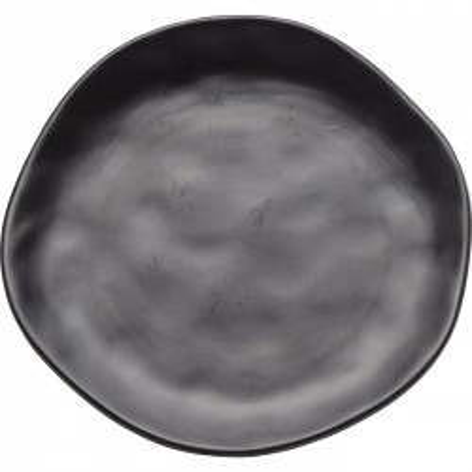 Assiettes Organic noires 20cm set de 4 Kare Design