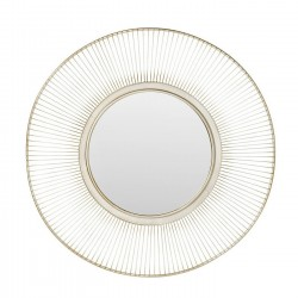Miroir Sun Storm argenté antique 93cm Kare Design