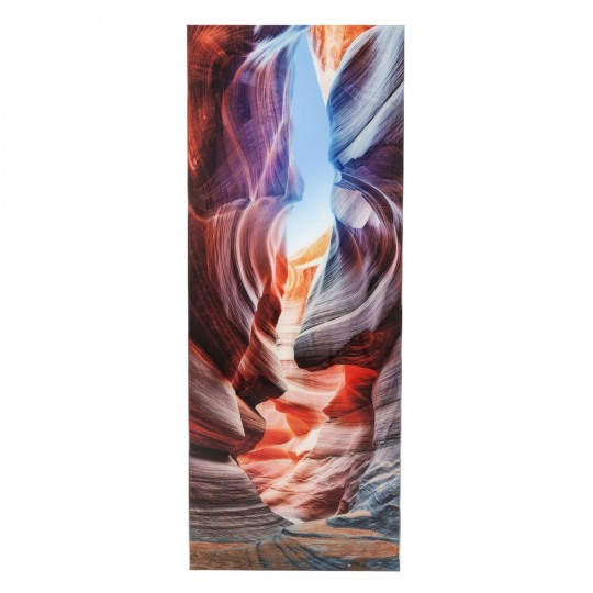 Tableau en verre Canyon Slot 180x70cm Kare Design