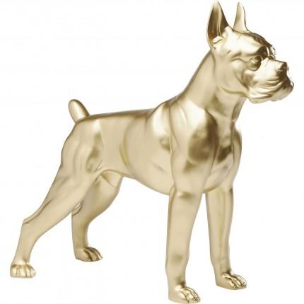 Déco chien Toto doré 44 cm Kare Design