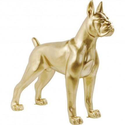 Figurine décorative Toto XL doré Kare Design