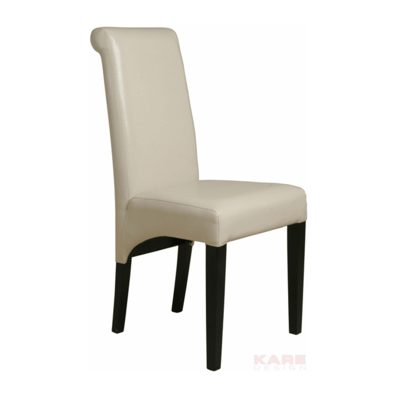 Chaise isis cr me kare design for Chaise coffre