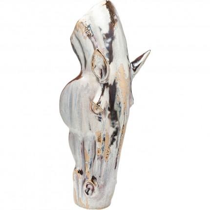 Vase tête de cheval 40cm Kare Design