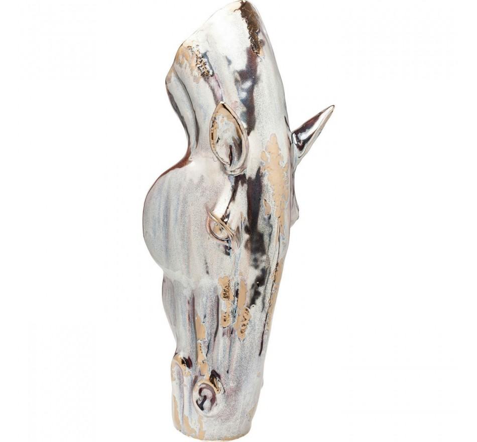 Vase Horse Head cheval 40cm Kare Design