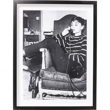 Tableau Frame Actor Audrey Private 65x85cm Kare Design