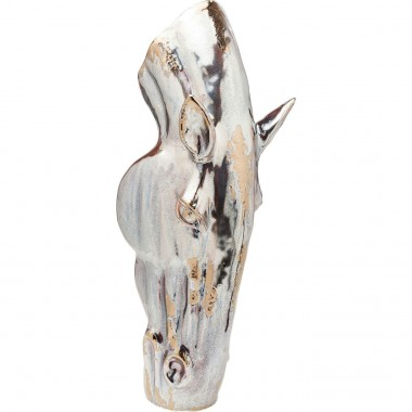 Vase Horse Head cheval 75cm Kare Design