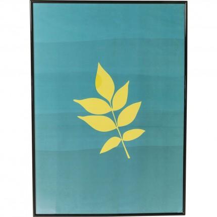 Tableau Frame feuille 71x51cm Kare Design