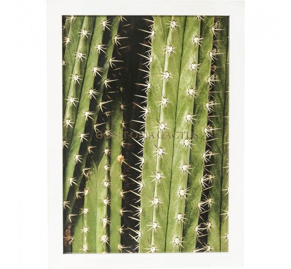 Tableau Frame Cactus 45x33cm Kare Design
