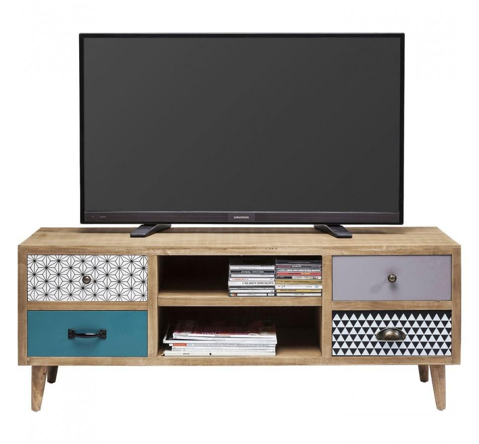 meuble tv scandinave en bois capri kare design. Black Bedroom Furniture Sets. Home Design Ideas