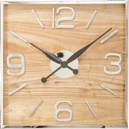 Horloge murale Lodge 50x50cm Kare Design