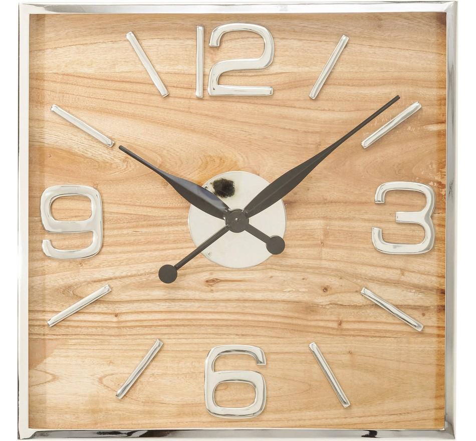 Horloge murale Lodge 50x50cm