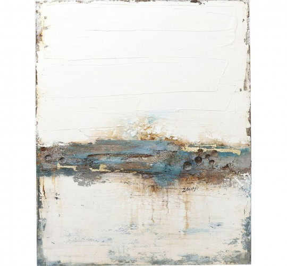 Peinture à l huile Abstract Stroke One 120x90cm