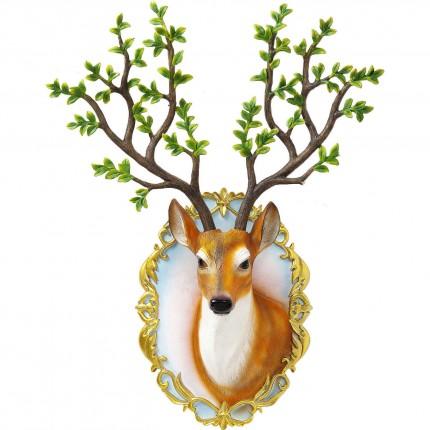 Tête cerf Forêt Kare Design