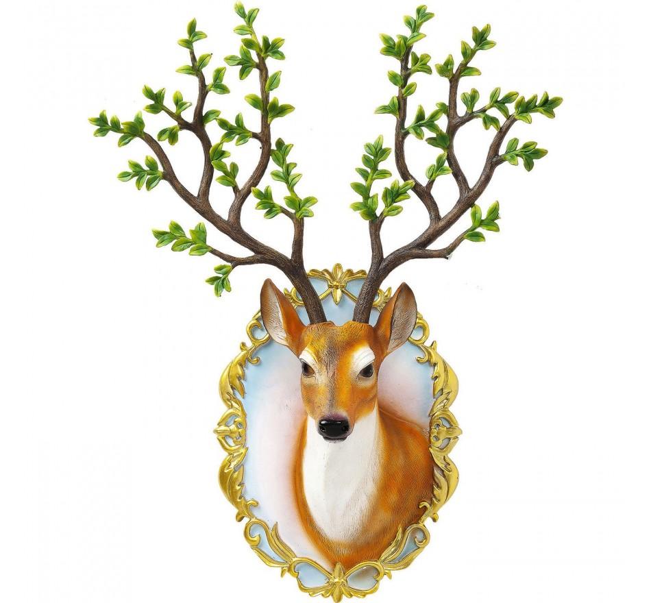 Tête décorative Deer Forest